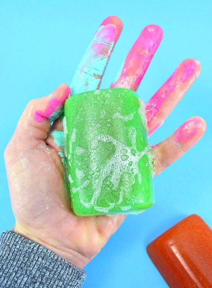 Homemade Mechanic Soap (Pumice Soap)