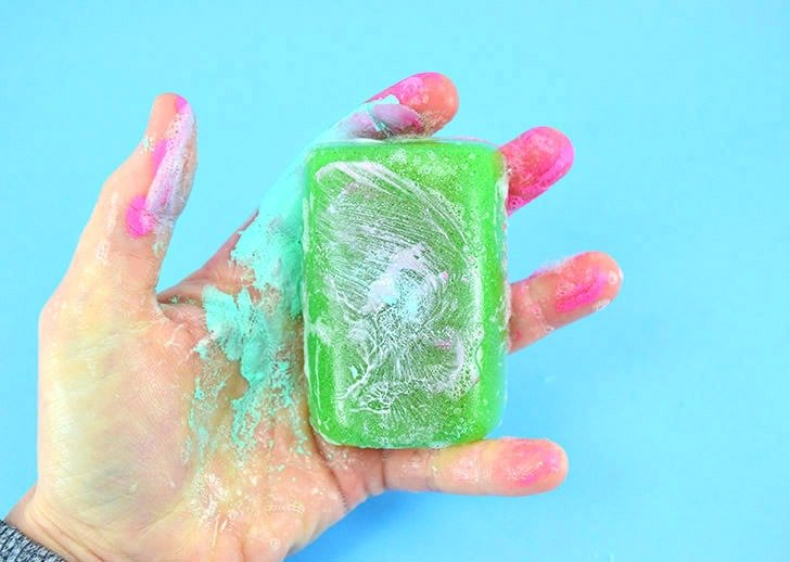 If you often get paint or grease on your hand mechanic soap with powdered pumice is just the super scrubby ticket to get clean hands quickly!