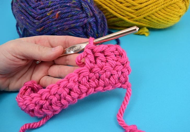Learn how to crochet polka dots. It's such a fun way to incorporate texture and color in your hooked projects.