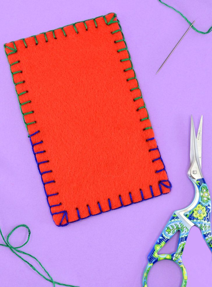 How to Sew the Blanket Stitch