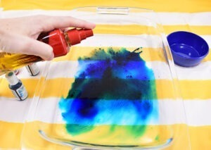 Dig around in the pantry because this fantastic kid's craft uses food to make amazing abstract DIY art pieces!