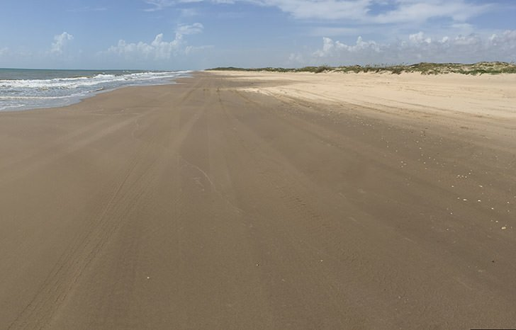 Boca Chica State Park in South Texas