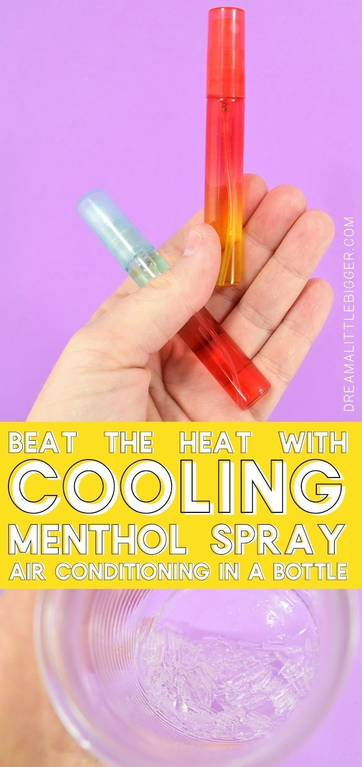 Also known as air conditioning in a bottle, this menthol cooling spray will help you beat the summer heat for those times when you can't escape it!