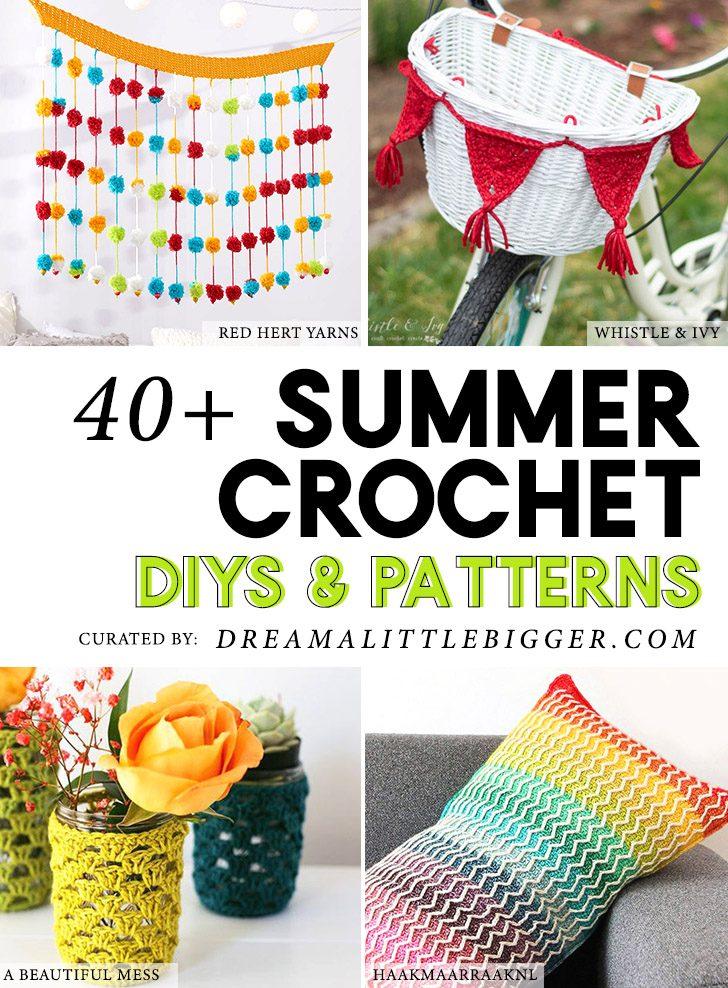 40+ Summer Crochet Projects
