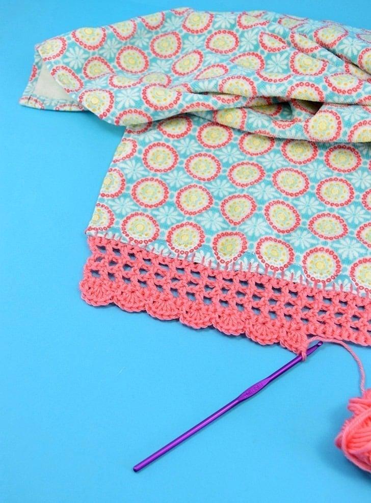 Crochet Edge Dish Towels Dream A Little Bigger