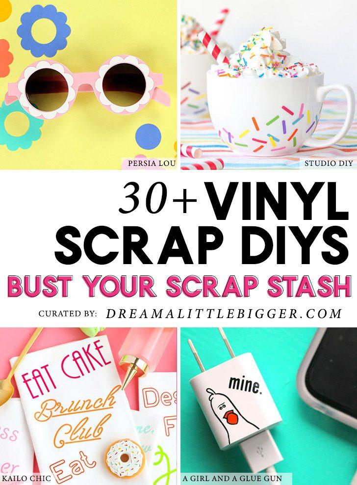 30+ Vinyl Scrap Projects