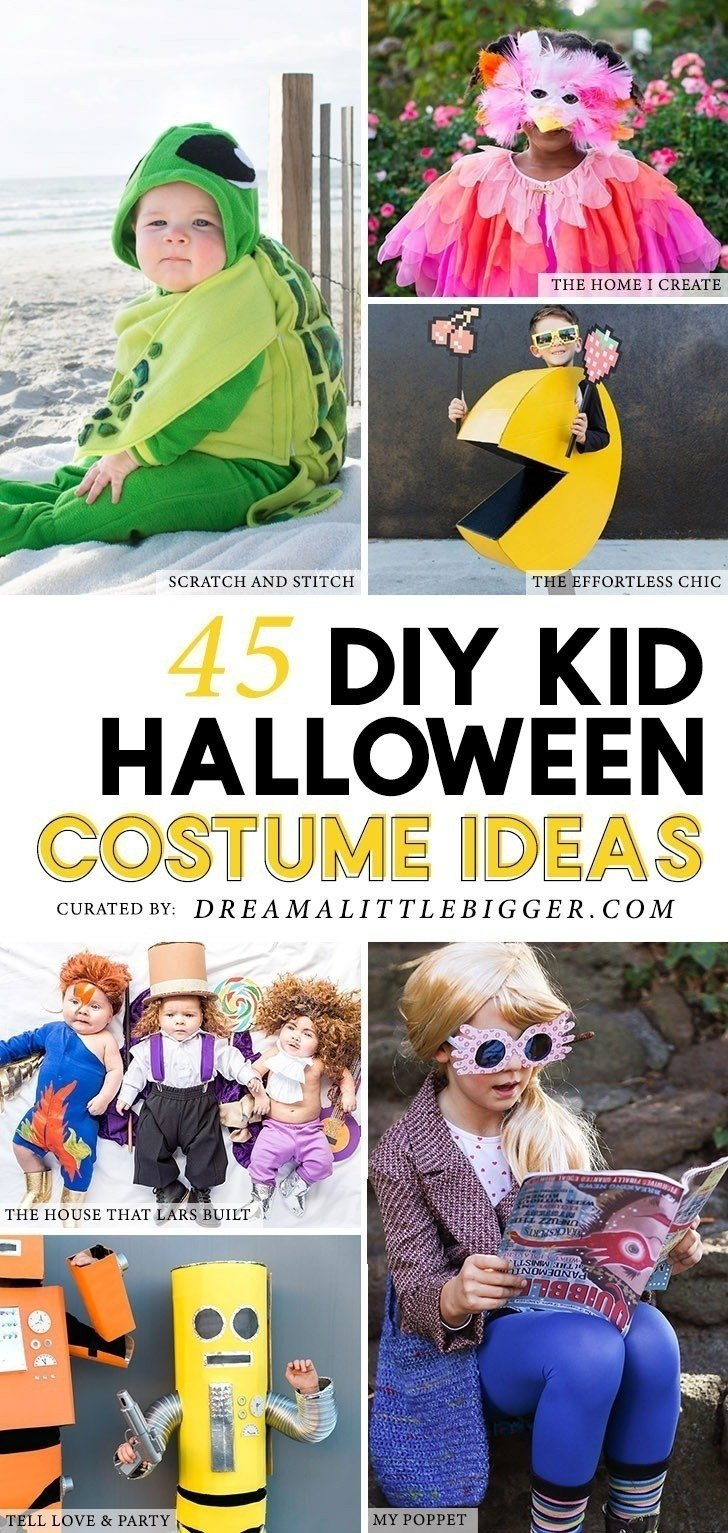 45 amazing kids halloween costumes - dream a little bigger