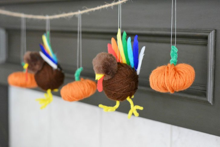 Give thanks for your crafty personality with these fun but easy turkey crafts! They're simple enough kids can get involved and look great!