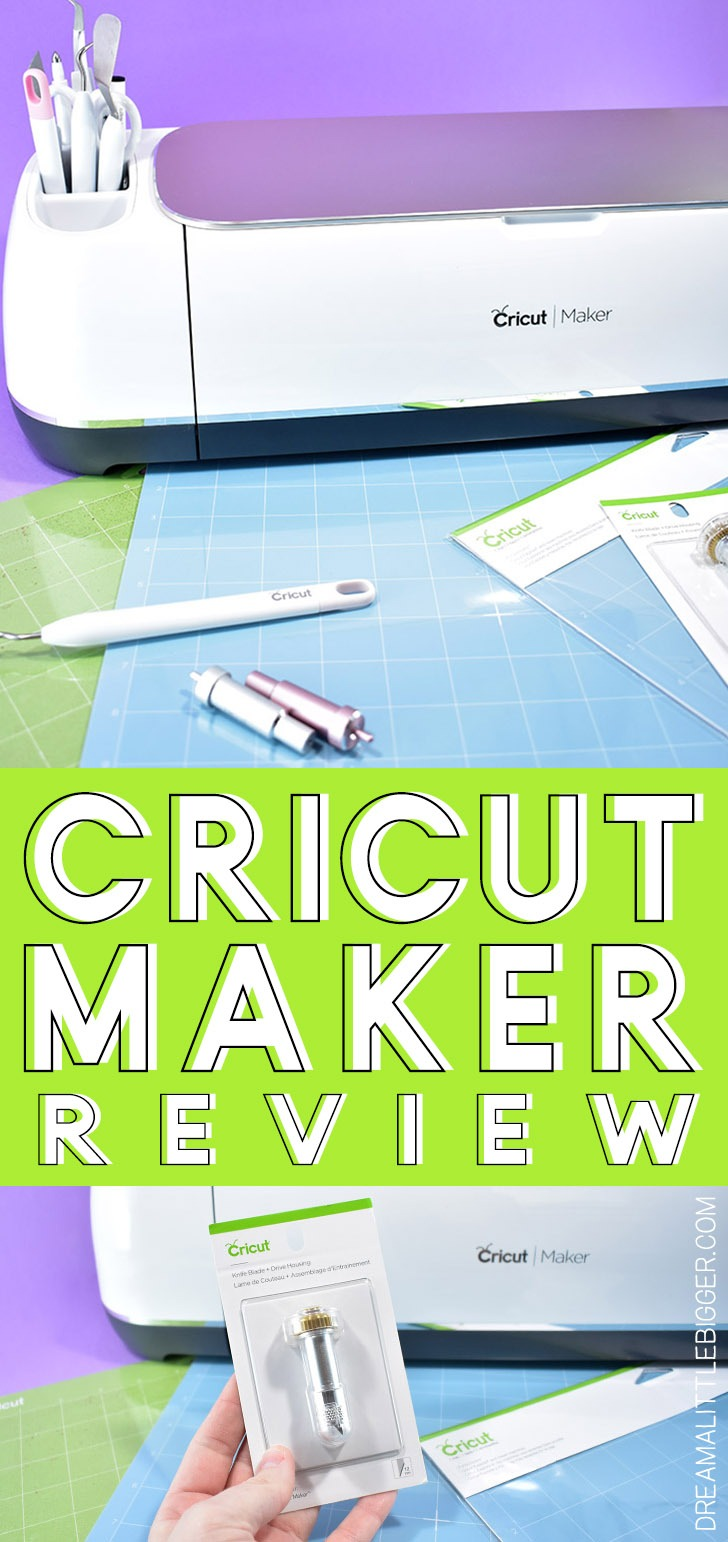 Thinking about getting a cutting machine? I've had others, but check out why I love my Cricut Maker the most.