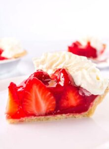 Look no further for the BEST Fresh Strawberry pie recipe. Perfectly sweet, this simple recipe whips up in minutes and is a strawberry lovers dream! I will be making this pie over and over again!