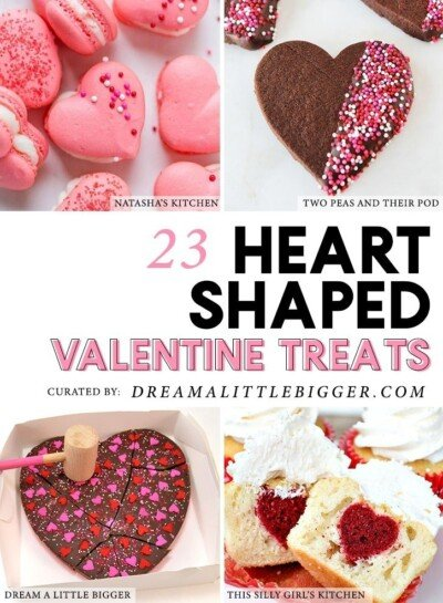 If you love hearts you will simply adore these amazing heart-shaped desserts that are perfect for Valentine's Day or just because!