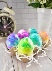 How to Make Shaving Cream Easter Eggs for Your Most Colorful Holiday Yet This DIY tutorial is so easy, even your littlest ones can get in on the fun.