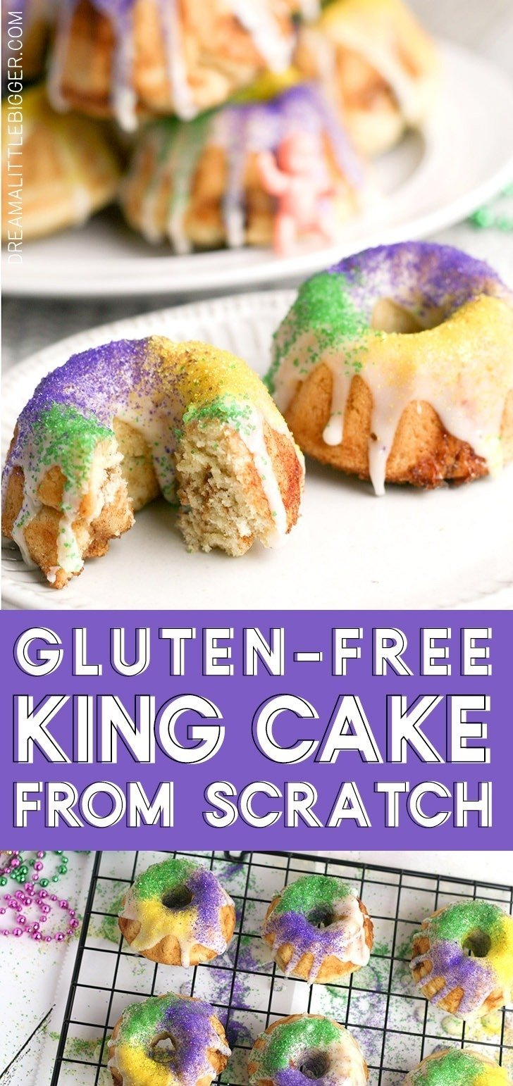 The GF no longer need be left out! Get this amazing recipe for Gluten-Free King Cake that is so much like the original, we bet you won't notice the difference!