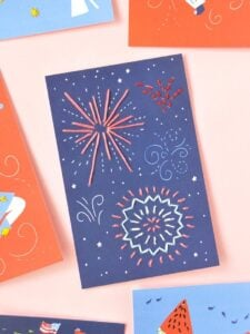 Show off your Patriotism and love of all things red, white and blue with these awesome Fourth of July crafts for every crafty skill level!