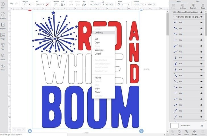 This patriotic Red, White and Boom Fourth of July Tee Shirt is too much fun! Make one for yourself or your favorite fireworks enthusiast! #boomsquad