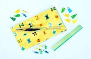 Sew up some awesome zippered pencil case bags with Sew and So.