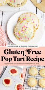 No gluten? No problem! Make these gluten free pop tarts, our all-time favorite breakfast food, that are sure to bring smiles to your breakfast table!