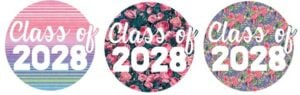 Looking for a cute first day of school shirt? Grab this FREE SVG file and you can make a graduation year shirt tee for every graduating class from 2020 to 2040!