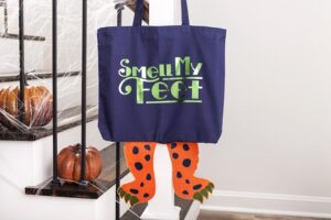 Smell My Feet Bag, Cricut