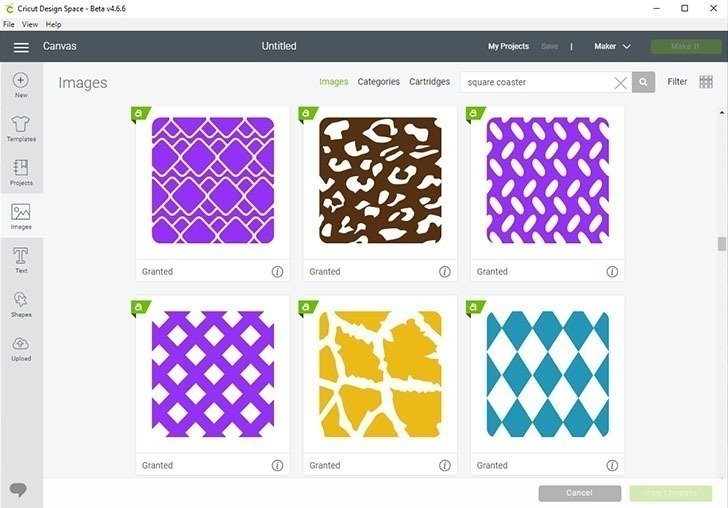 Cricut Dersign Space is full of designs perfect for DIY coasters and tote bags using Infusible Ink.