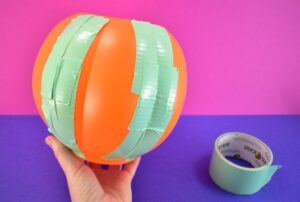Piece the pail back together using duct tape.