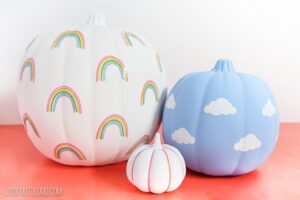 Check out these amazing no carve pumpkins kids will love!