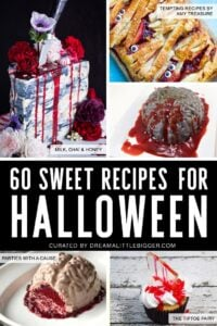 60 Amazing Halloween Dessert Recipes from Cute to Gross, Candy to Tiered Cakes!