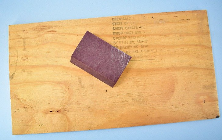 Find a piece of plywood or purchase one at the home improvement store. Cut it as needed to the correct dimensions or ask them to cut it for you in-store.
