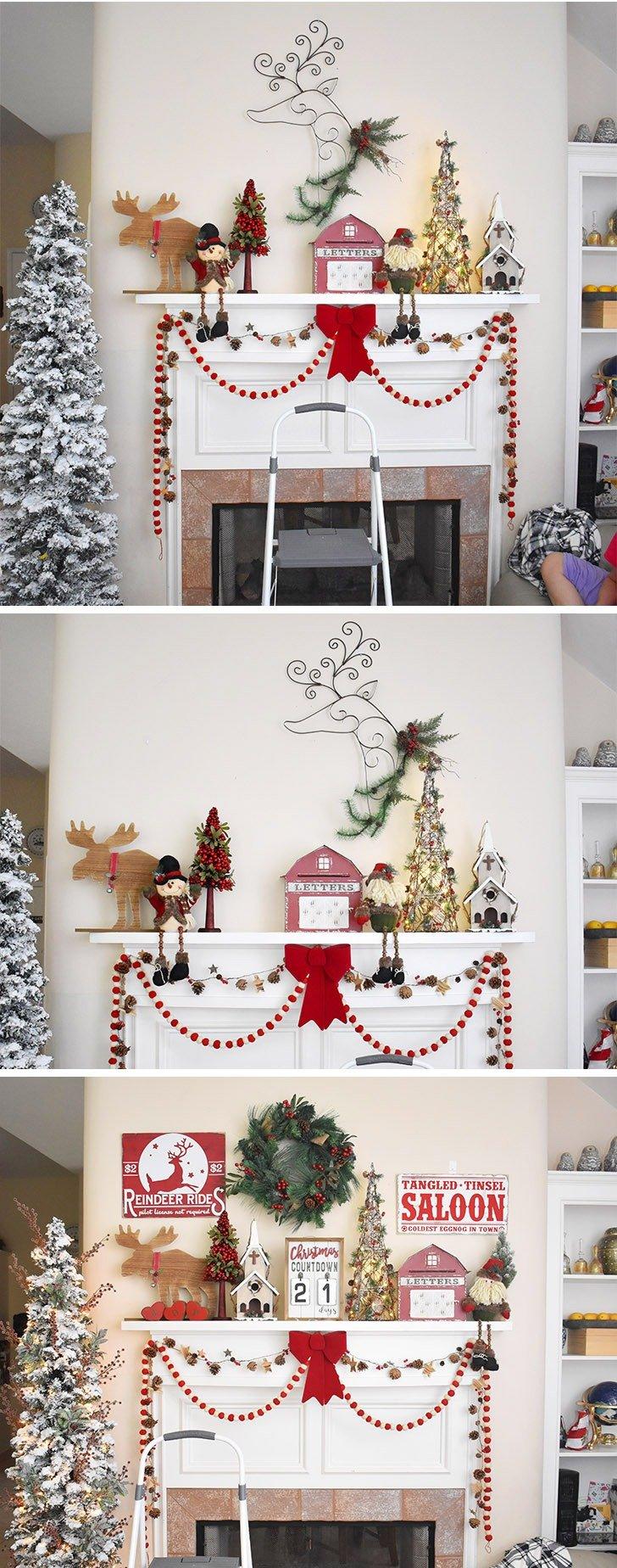 Make And Hang Diy Vintage Christmas Signs Dream A Little Bigger