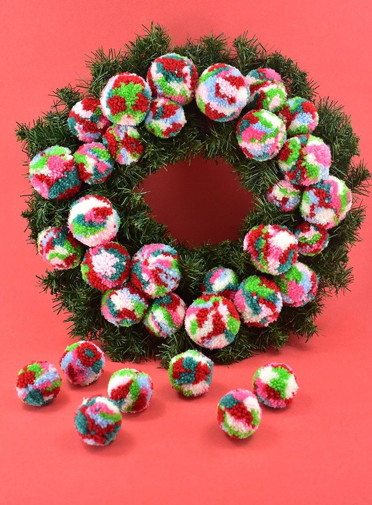 Fill out your wreath as evenly as possible.