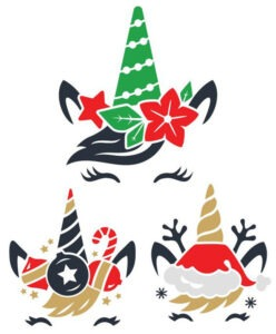 These Free Christmas SVG Files are all so cute and fun. Use them to make the most perfect Christmas tees with a little HTV!
