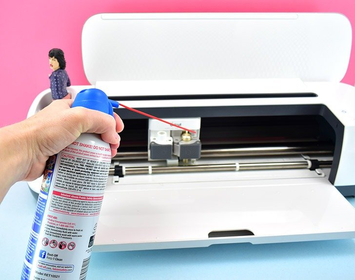 Keeping your Cricut clean and running well is really simple.