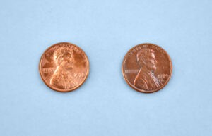 We're using some abrasive methods to remove the gunk when we clean pennies and if you don't rinse it away it will continue to eat at the surface of the penny.