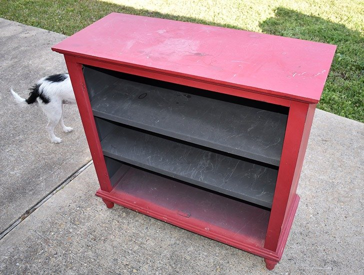 Always paint furniture in a well ventilated area.