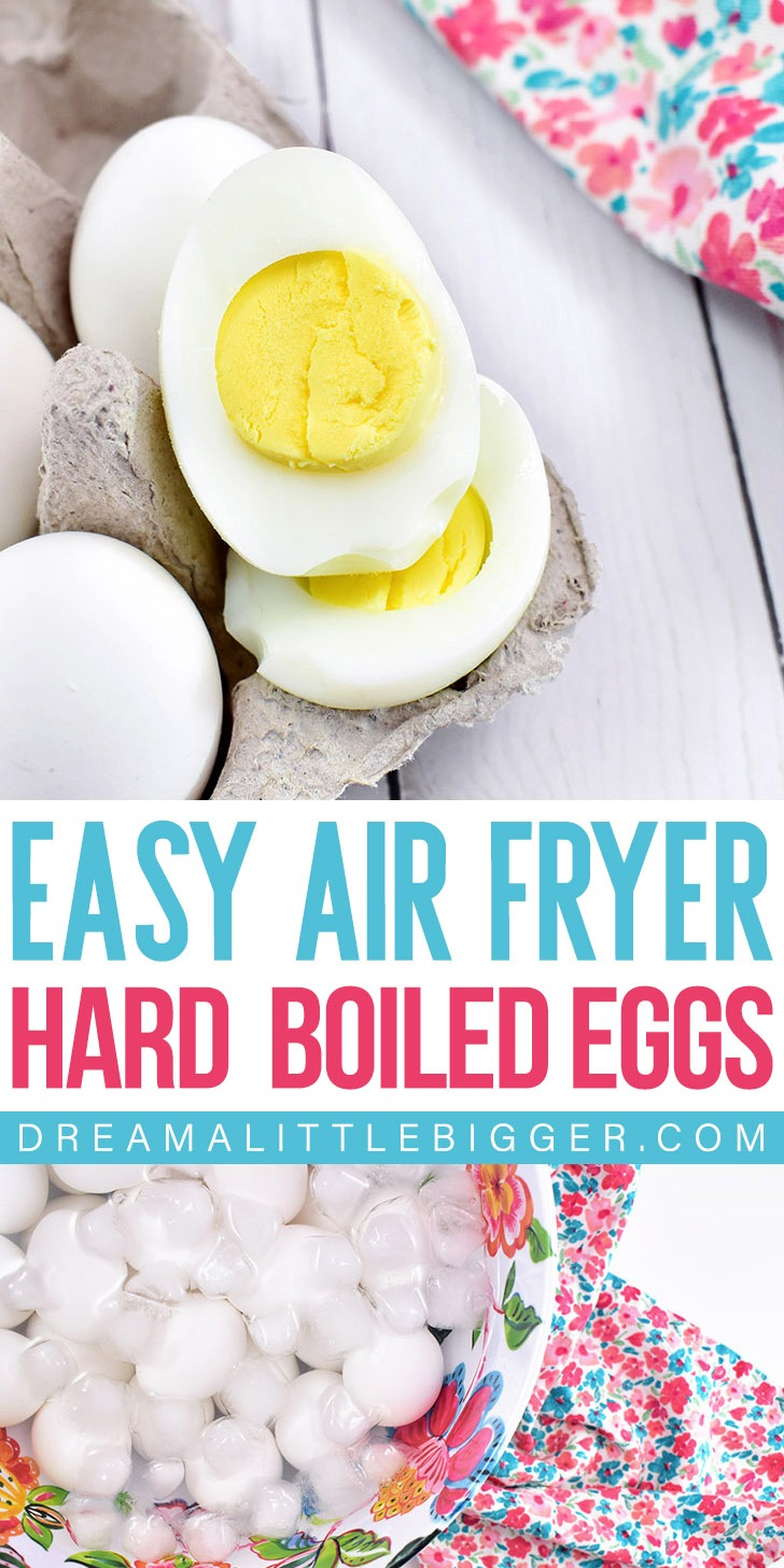 Quick and easy, cooking hard boiled eggs in the air fryer is the ONLY way I'll cook them, now!