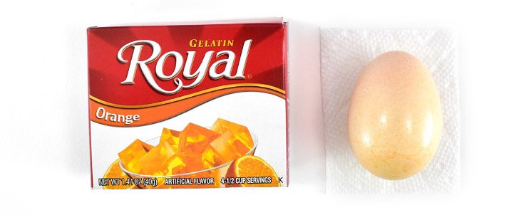 How to Dye Easter Eggs with Royal Gelatin