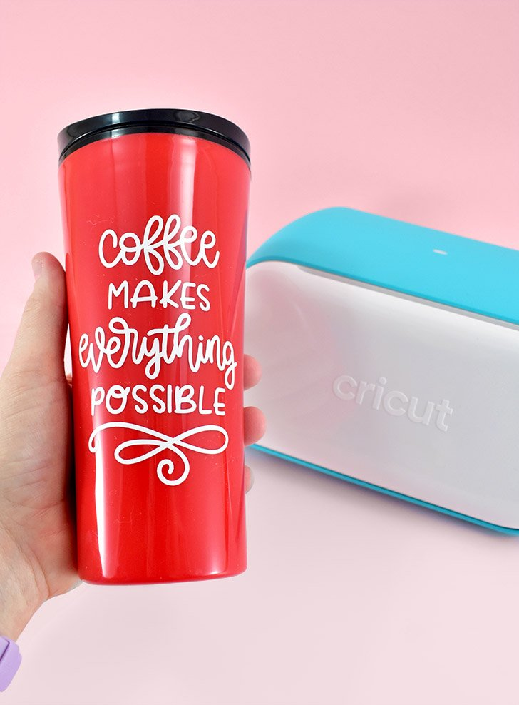 Adorable travel mug done!