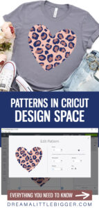 Learn step-by-step how to upload and use Cricut Patterns with shapes, SVG files and more in Cricut Design Space.