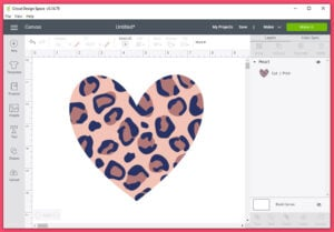 How to use Cricut Patterns as a Fill to Print and Cut (step by step tutorial)