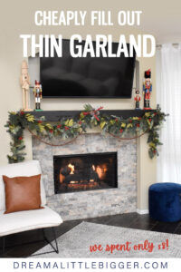 See how to make gorgeous and professional-looking DIY Christmas garland, step by step, without a huge budget.