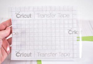 In this Cricut Design Space file, the binder cut is in blue and the cabinet cut is in pink.