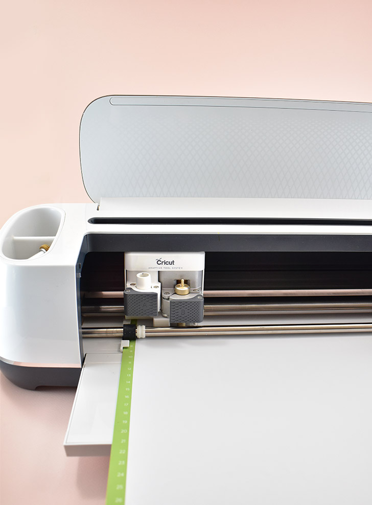 Load the mat into your Cricut, select Premium Vinyl as your material, and cut.