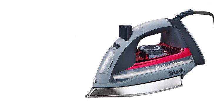 You can apply HTV with a household iron.