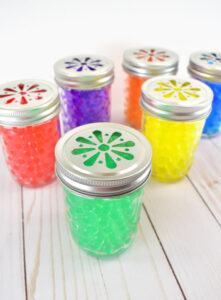 Make your home smell gorgeous with this easy and inexpensive water bead air freshener DIY that takes only minutes to make!