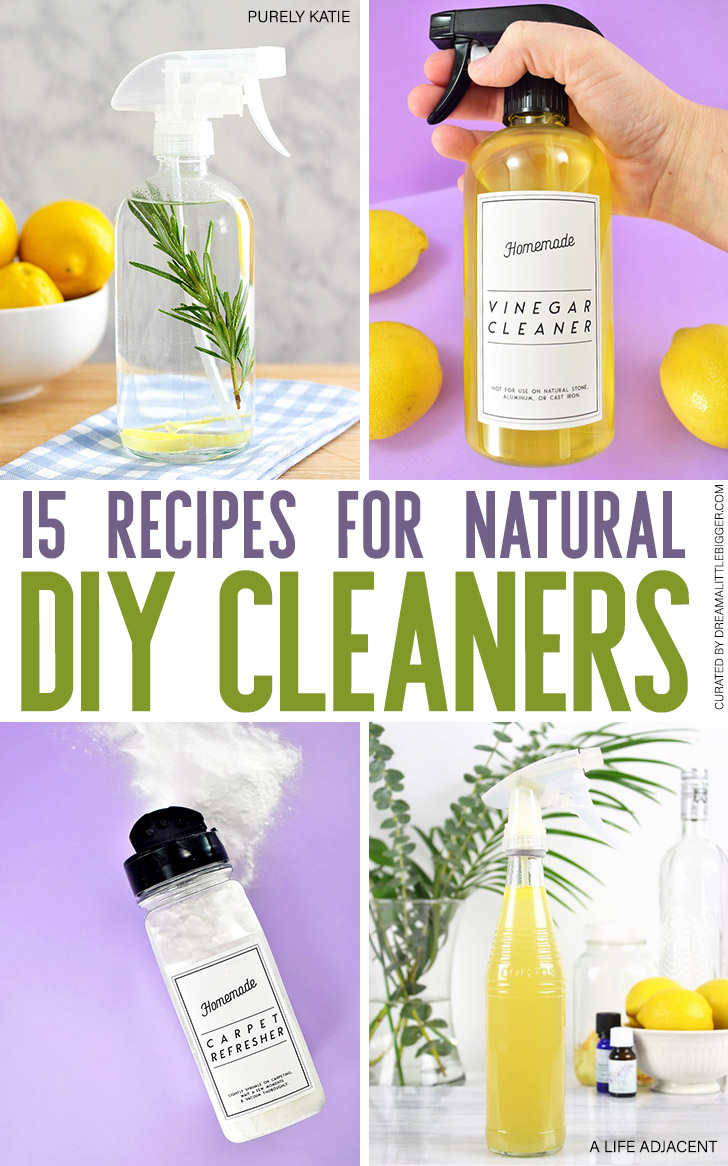 These DIY cleaners and homemade air fresheners are simple, quick and inexpensive to make using only 2 or 3 ingredients you probably already have on hand!