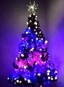 This DIY Galaxy Tree is so unique, it's out of this world! See how you can make a Christmas tree that is so unique, it's out of this world!