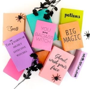 Halloween Crafts for Adults - Pastel Halloween Motivational Books by Kailo Chic