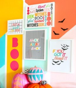 Halloween Crafts for Adults - Free Printables by Kailo Chic Life